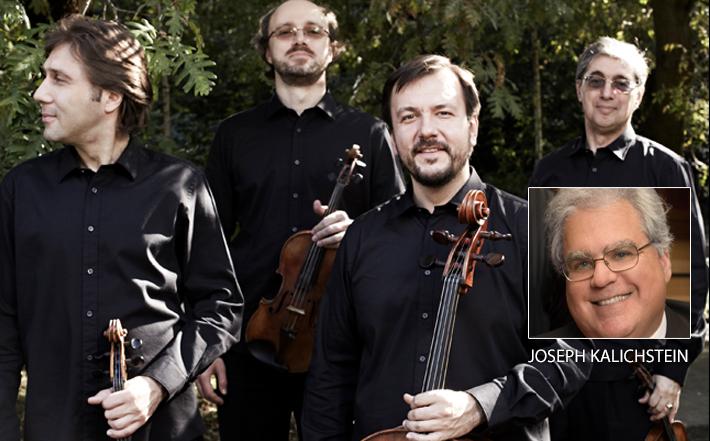 Borodin Quartet With Joseph Kalichstein